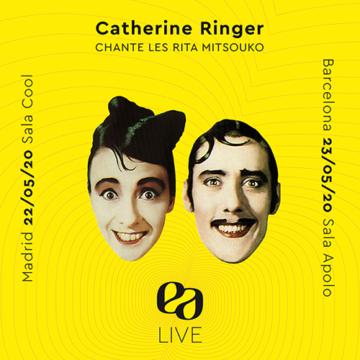 Catherine Ringer chante les Rita Mitsouko en Espagne!